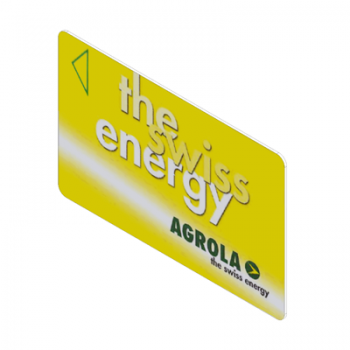 Magnetic stripe card AGROLA the swiss energy